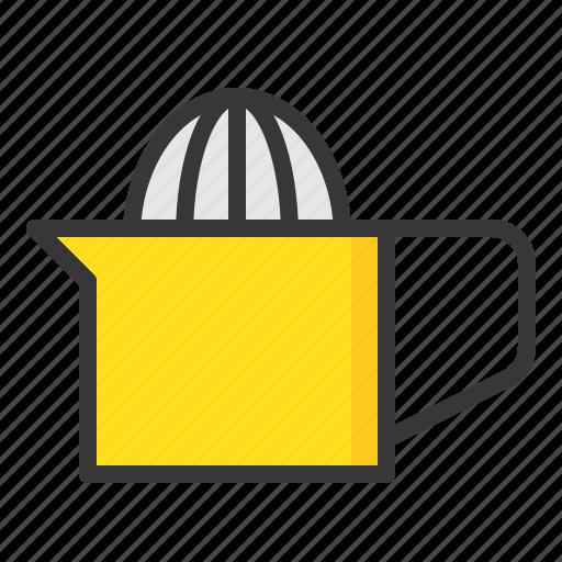 citrus juicer, kitchen, kitchenware, orange juicer, squeezer, utensill icon