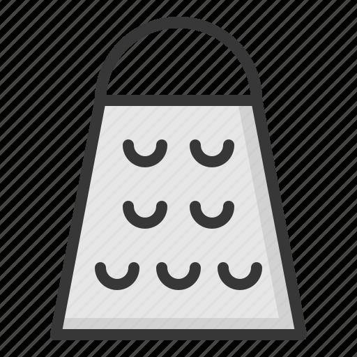 grater, kitchen, kitchenware, utensill icon