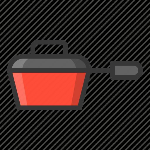 kitchen, kitchenware, lid, pot, utensill icon