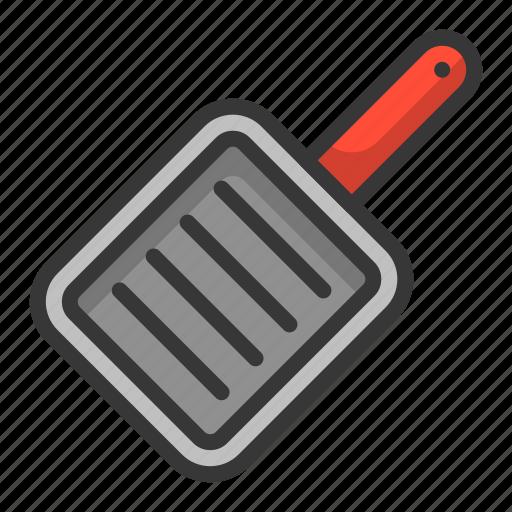 kitchen, kitchenware, pan, square pan, utensill icon