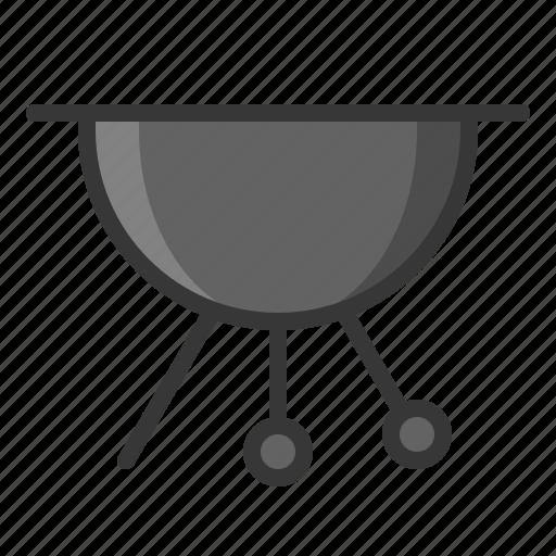 barbecue grill, bbq, kitchen, kitchenware, utensill icon