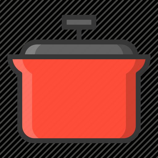 kitchen, kitchenware, pot, utensill icon