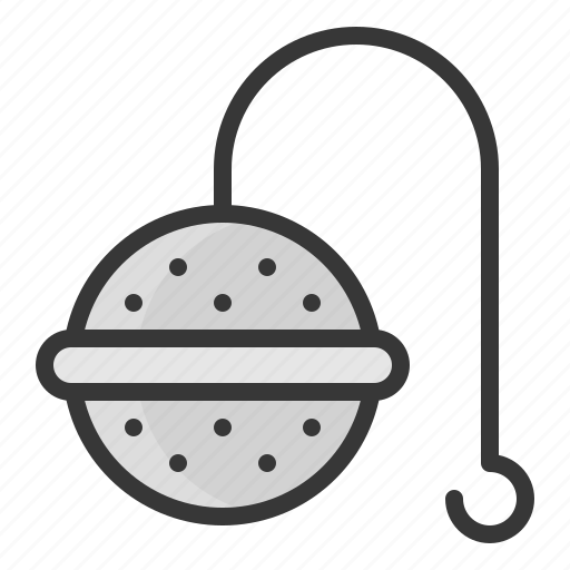 kitchen, kitchenware, tea stainer, utensill icon