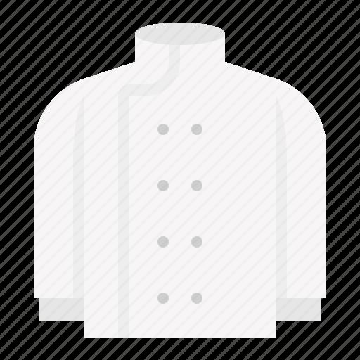chef's uniform, kitchen, kitchenware, uniform, utensill icon