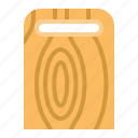 chopping board, kitchen, kitchenware, utensill icon