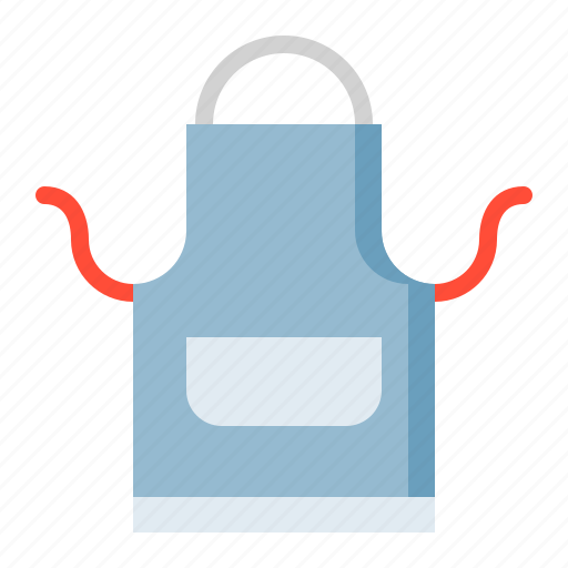 apron, kitchen, kitchenware, utensill icon
