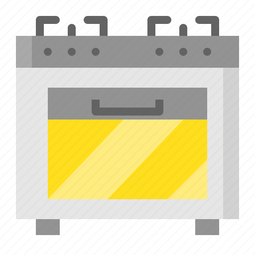 gas stove, kitchen, kitchenware, oven, utensill icon