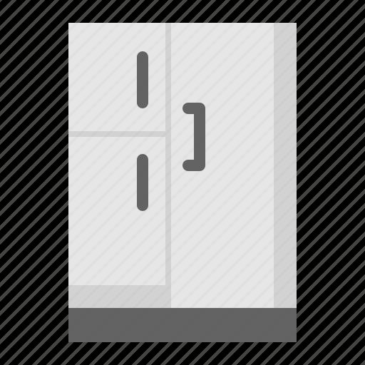 kitchen, kitchenware, refrigerator, utensill icon