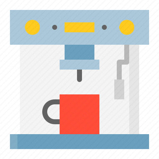 Coffee machine, kitchen, kitchenware, utensill icon - Download on Iconfinder