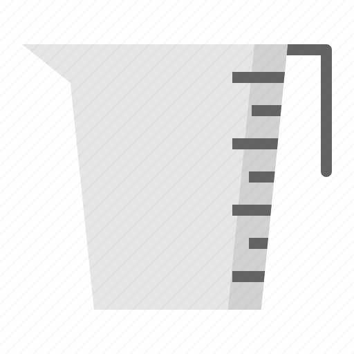 kitchen, kitchenware, measuring cup, utensill icon