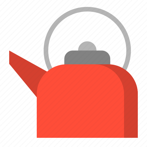 kettle, kitchen, kitchenware, utensill icon
