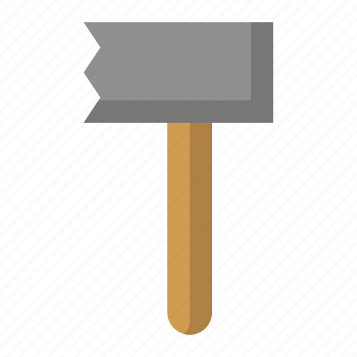 kitchen, kitchenware, meat pounder, meat tenderizer, utensill icon