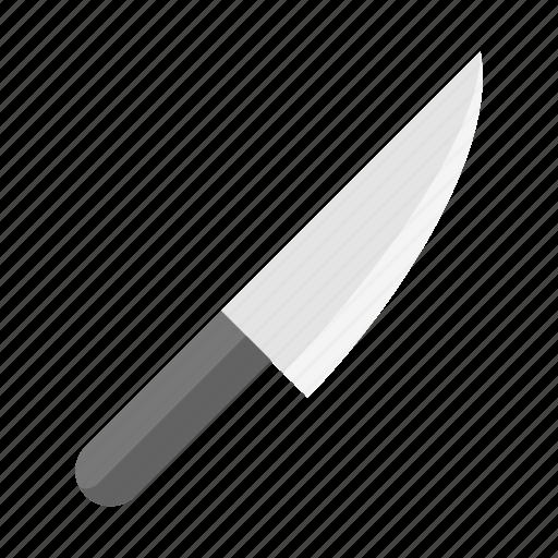 kitchen, kitchenware, knife, sharp knife, utensill icon