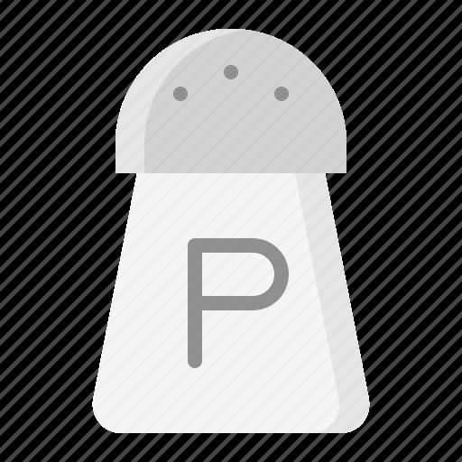 kitchen, kitchenware, pepper shaker, utensill icon