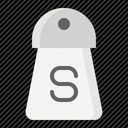 kitchen, kitchenware, salt shaker, utensill icon