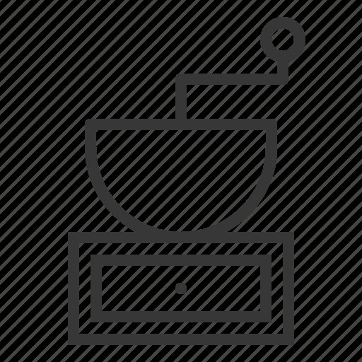 grinder, kitchen, kitchenware, utensill icon