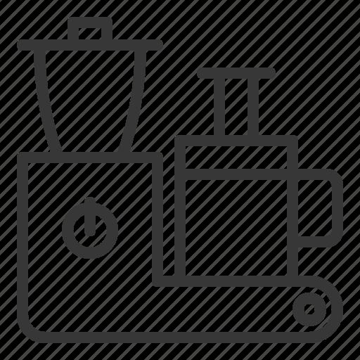 blender, juice blender, kitchen, kitchenware, utensill icon