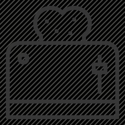 kitchen, kitchenware, toaster, utensill icon