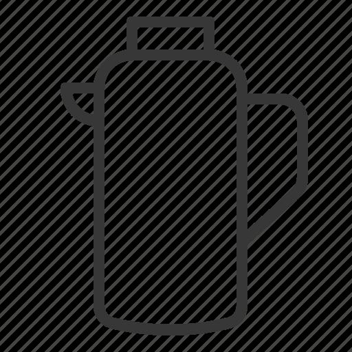 kettle, kitchen, kitchenware, utensill icon