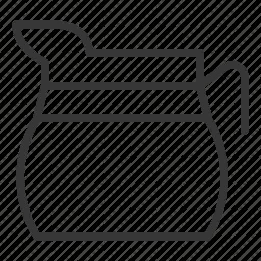 glass pot, kitchen, kitchenware, utensill icon
