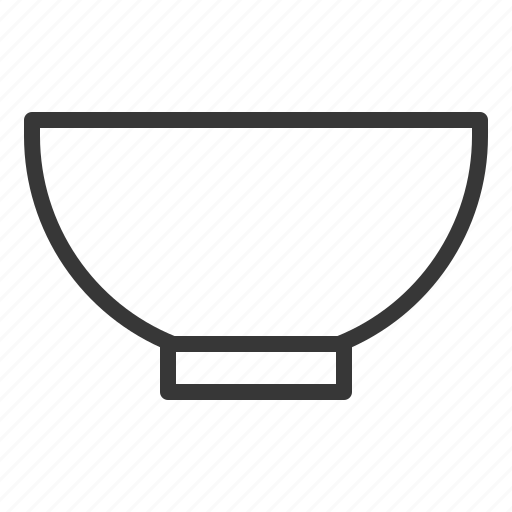 bowl, kitchen, kitchenware, utensill icon