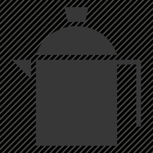 jug, kitchen, kitchenware, stainless steel jug, utensill icon
