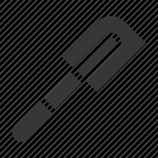 kitchen, kitchenware, rubber spatula, spatula, utensill icon