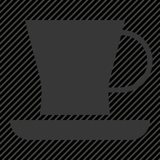 kitchen, kitchenware, saucer, teacup, utensill icon
