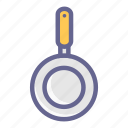 cooking, frying, kitchen, pan, restaurant, utensils icon