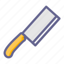 cook, food, kitchen, knife, restaurant, utensil, utensils icon