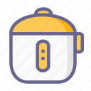 kitchen, magic com, magic jar, rice cooker, utensils icon