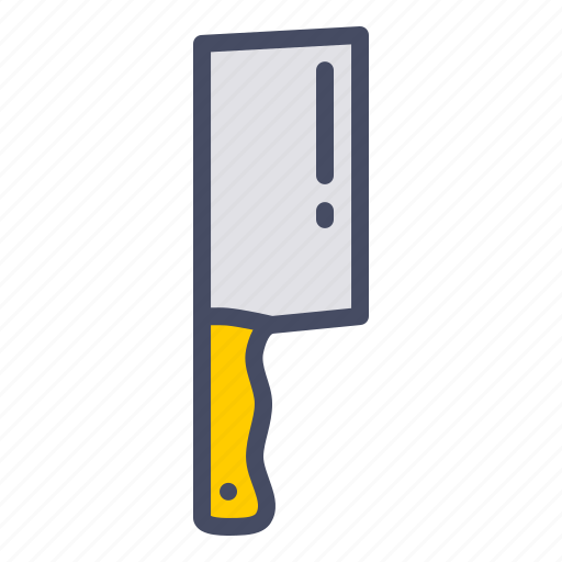 butcher, chef, cook, cut, kitchen, knife icon