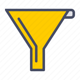 filter, funnel, juice, kitchen, processor icon