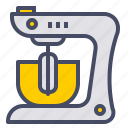 appliance, hand, kitchen, mix, mixer, stand, whisk icon