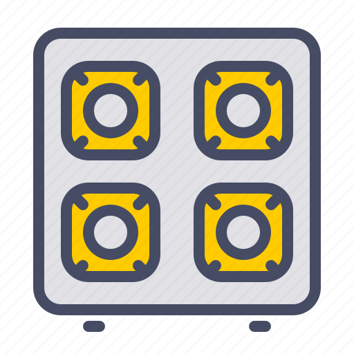 appliance, cook, gas, kitchen, stove icon