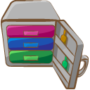 archive, compressed, rar icon