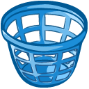 Empty Laundry Basket Clipart Kitchen icons i...