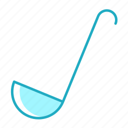 cooking, food, kitchen, kitchenware, ladle, soup icon