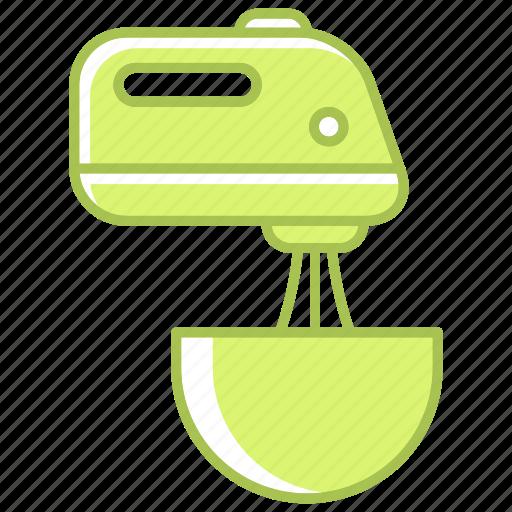 kitchen, kitchenware, mixer, utensil, whipping icon