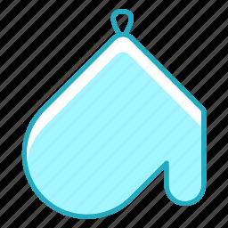 kitchen, kitchenware, potholder, protection icon