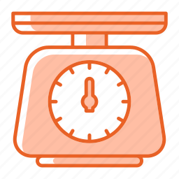 kitchenware, scale, tool, weight icon