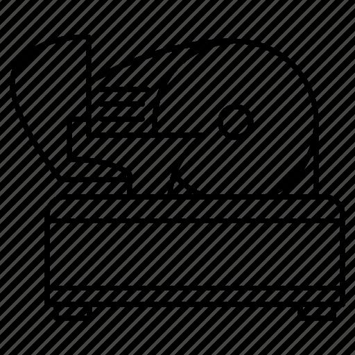 appliance, equipment, meat, restaurant, slicerkitchenware icon