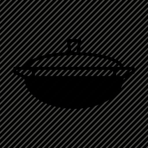 cooking, kitchen, kitchenware, pan, roaster, stewpan icon