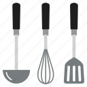 cooking, kitchen, kitchenware, spoon, tools, utensil icon