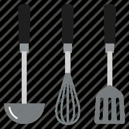 cooking, kitchen, kitchenware, spoon, tools, utensil icon