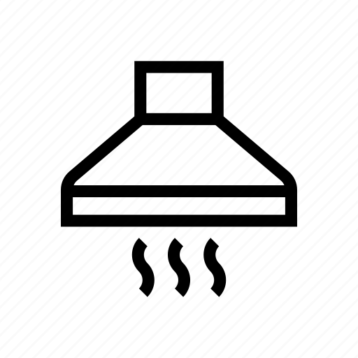 appliance, exhaust, hood, kitchen icon