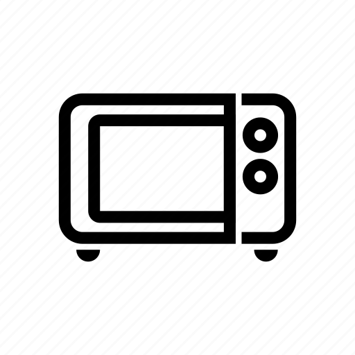 appliance, electronics, equipment, kitchen, microwave, oven icon
