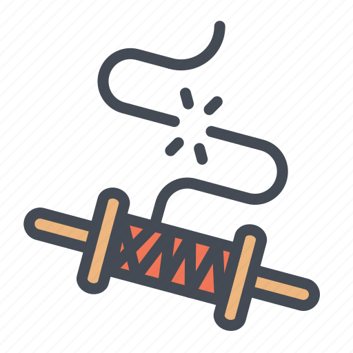 Brake, festival, kite, roller, rope, string, thread icon - Download on Iconfinder