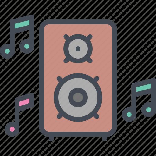 Loud, music, sound, speaker, uttarayana, voice, woffer icon - Download on Iconfinder