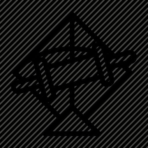 fetival, fly, kit, patang, rollar, skey, string icon